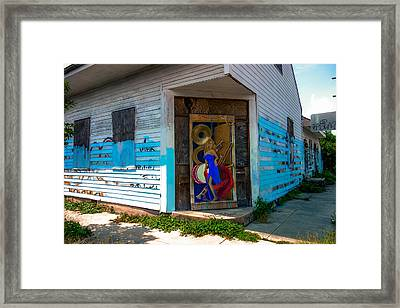 Urban Decay New Orleans Style Framed Print