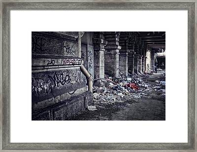 Urban Decay - New York Framed Print by Daniel Hagerman