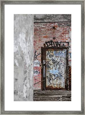 Urban Door  Framed Print