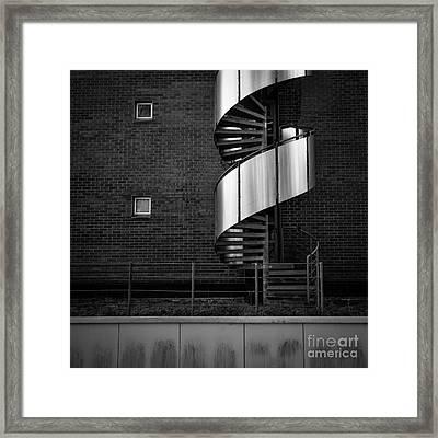 Urban Drill Framed Print by Hannes Cmarits
