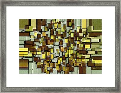 Urban Dwellings No 1 Framed Print by Ben and Raisa Gertsberg