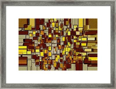 Urban Dwellings No 2 Framed Print by Ben and Raisa Gertsberg