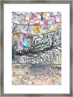 Urban Framed Print by Evelina Popilian