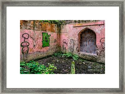 Urban Exploration Framed Print by Adrian Evans
