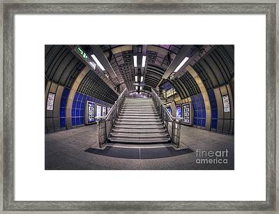 Urban Flight Framed Print by Evelina Kremsdorf