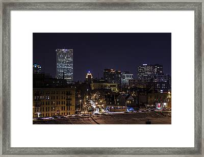 Urban Flip Side Framed Print