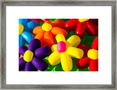 Urban Flowers - Featured 3 Framed Print
