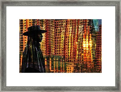 Urban Guru Framed Print by Skip Hunt