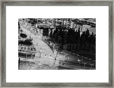 Framed Print featuring the photograph Urban  by Heidi Smith