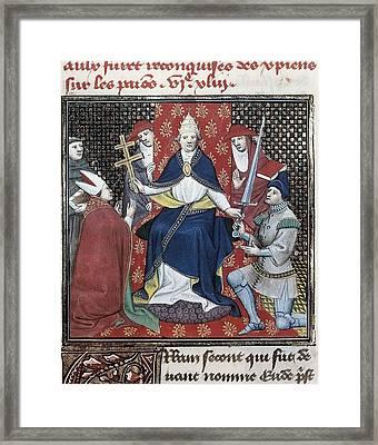 Urban II C. 1035 - 1099. First Crusade Framed Print by Everett