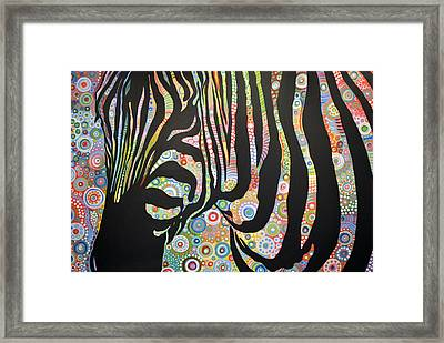 Framed Print featuring the painting Urban Jungle by Amy Giacomelli