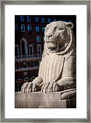 Urban King Framed Print