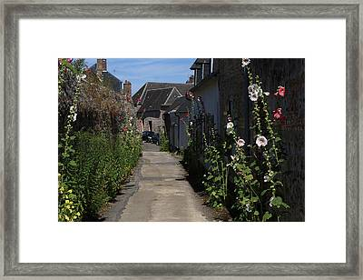 Urban Lane Framed Print
