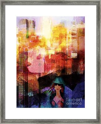 Urban Life Framed Print by Lutz Baar