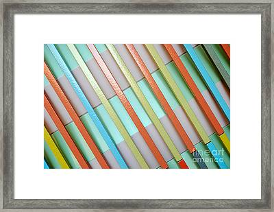 Urban Lines  Framed Print by Hannes Cmarits