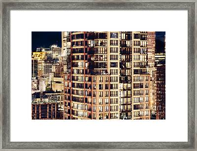 Framed Print featuring the photograph Urban Living Dclxxiv By Amyn Nasser by Amyn Nasser