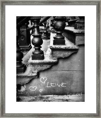 Urban Love Framed Print