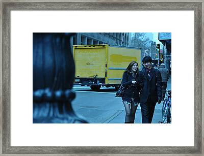 Urban Love2 Framed Print