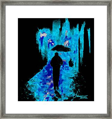 Urban Nights Tnm Framed Print
