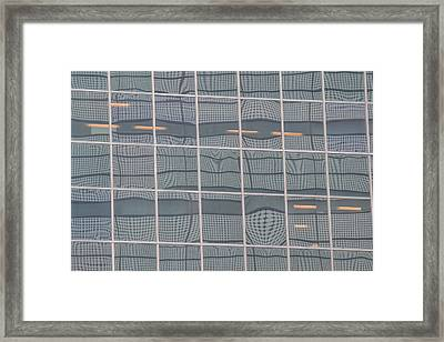 Urban Op Framed Print by Bill Mock