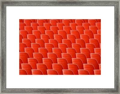 Urban Ordinary And Patterns Framed Print