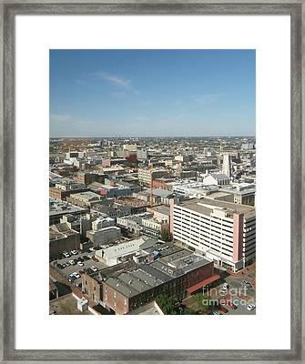 Urban Orleans Framed Print by Joseph Baril