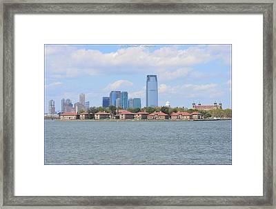 Urban Perspective Framed Print by Sonali Gangane