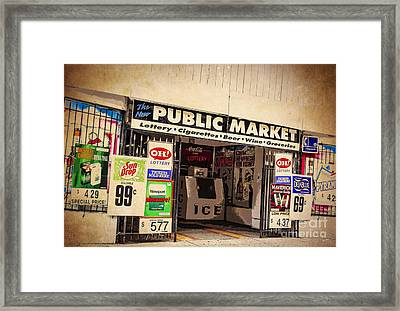 Urban Plight In Youngstown Ohio Framed Print by Janice Rae Pariza