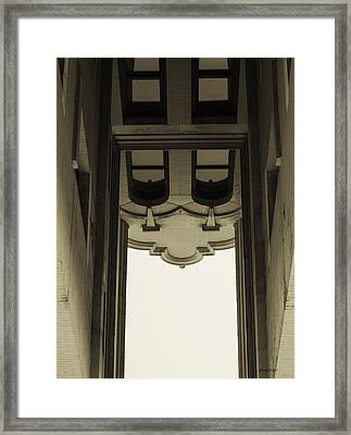 Urban Portals - Architectural Abstracts Framed Print by Steven Milner