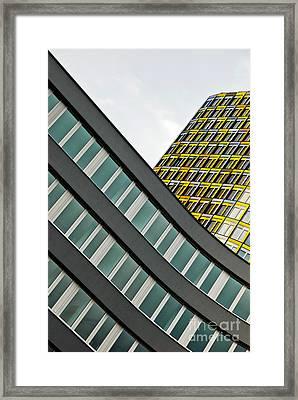 urban rectangles III Framed Print by Hannes Cmarits