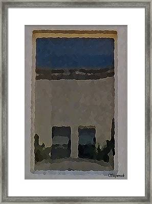 Urban Reflections Framed Print by Christopher Bage