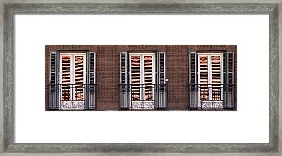 Urban Reflections Framed Print by Frank Tschakert