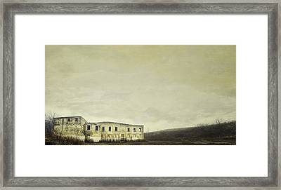 Urban Ruins Framed Print by Scott Norris
