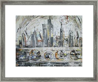 Urban Rumble Framed Print