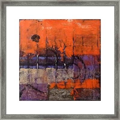 Urban Rust Framed Print