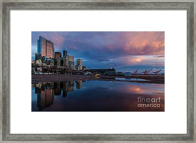Urban Serenity Framed Print by Mike Reid