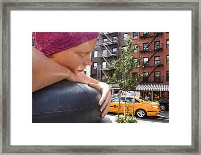 Urban Siren Framed Print by Joanna Madloch