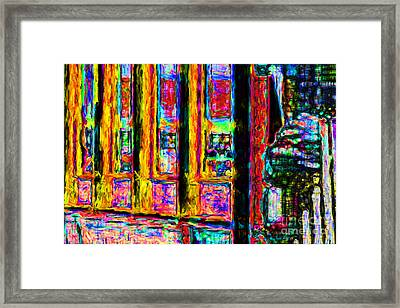 Urban Sprawl - 7d14097 Framed Print by Wingsdomain Art and Photography