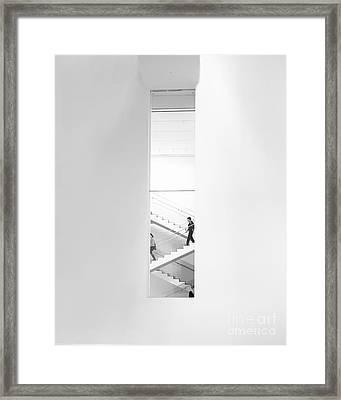 Urban Staircase Framed Print