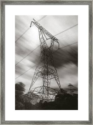 Framed Print featuring the photograph Urban Totem by Amarildo Correa