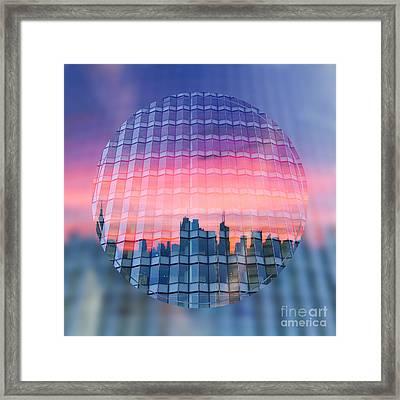 Urban Twilight Framed Print