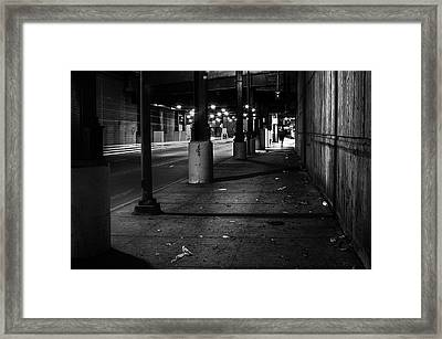Urban Underground Framed Print by Scott Norris