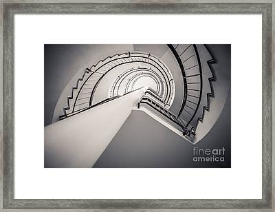 Urban Wave Framed Print by Hannes Cmarits