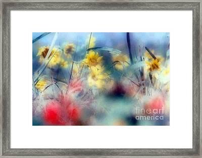 Urban Wildflowers Framed Print by Michael Hoard
