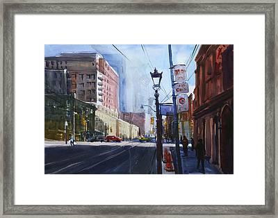 Urban_1 Framed Print