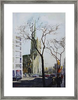 Urban_3 Framed Print by Helal Uddin