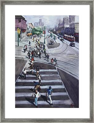 Urban_4 Framed Print by Helal Uddin