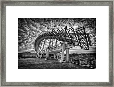 Urbanator  Framed Print by Evelina Kremsdorf