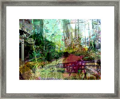 Urbanscetch Framed Print by Immo Jalass