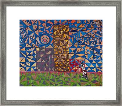 Urbem Framed Print by Eduardo Cid
